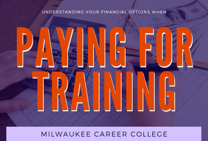 Paying for Training in large text above financial supplies